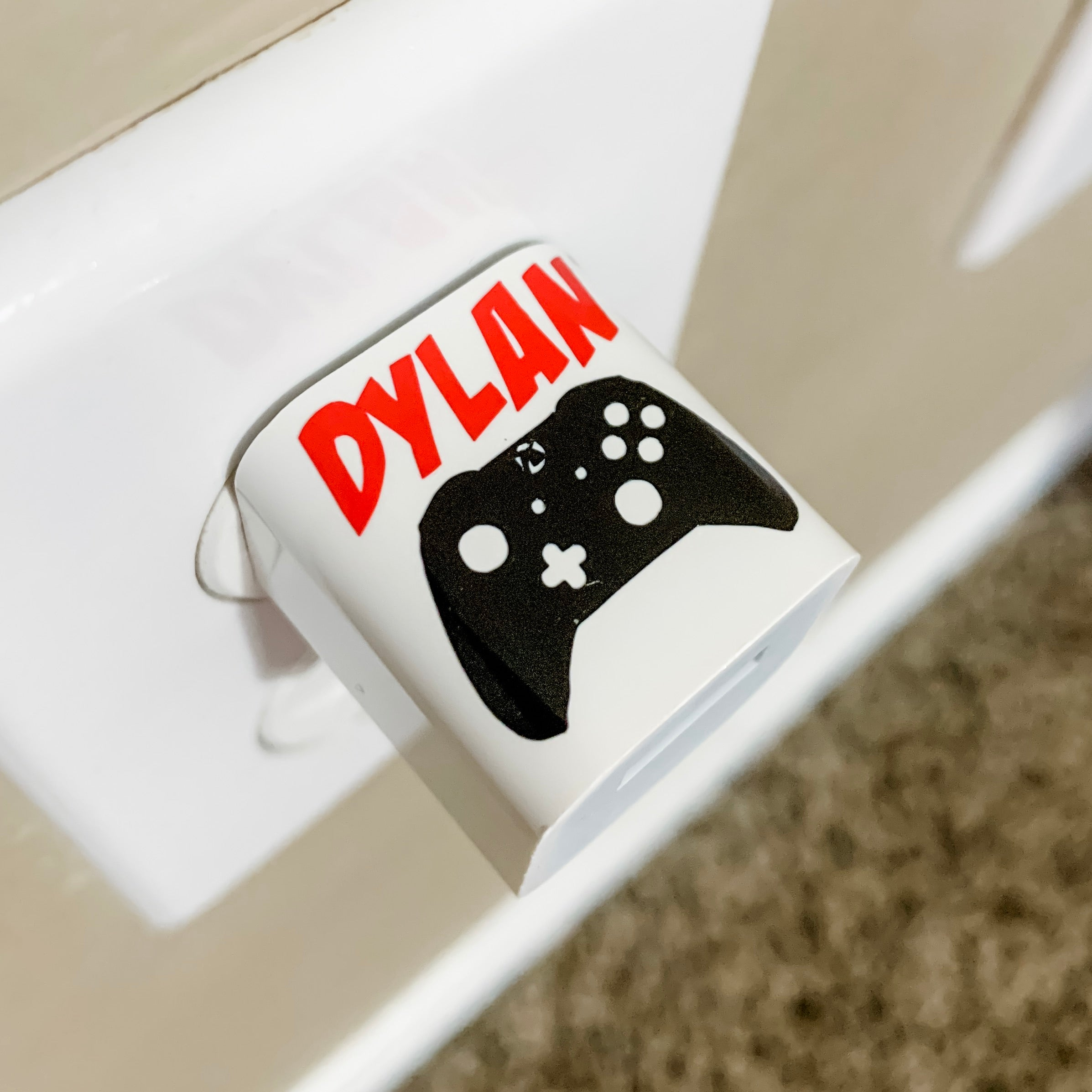 X-Box Controller Personalized USB Wall Charger