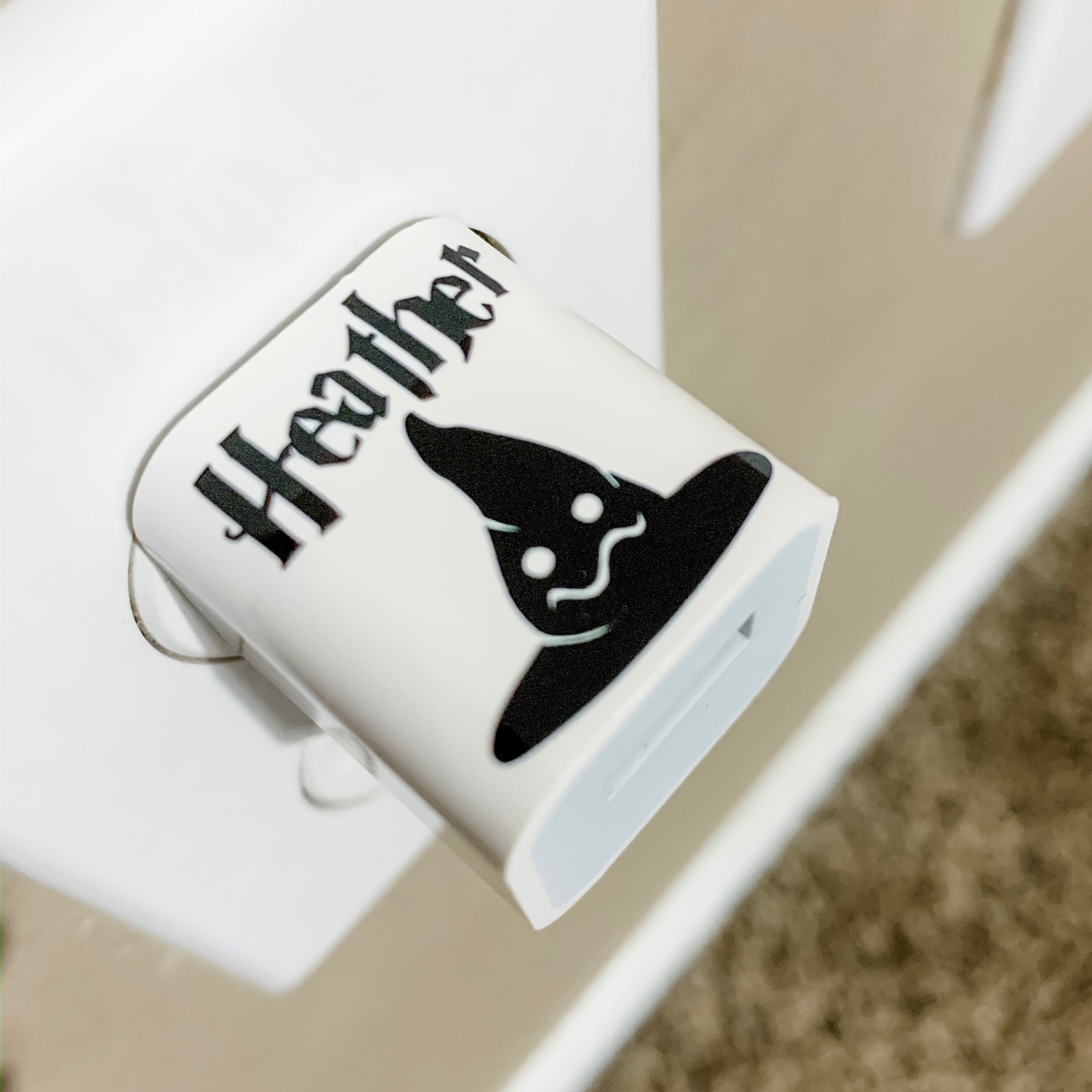 Harry Potter Personalized USB Wall Phone Charger