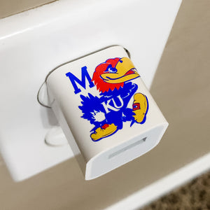 KU Monogram/Initial USB Wall Phone Charger