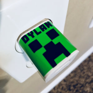 "Minecraft ""Creeper"" Personalized USB Wall Phone Charger"