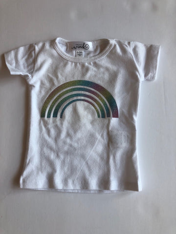 Sweet Wink Rainbow Tee