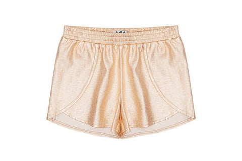 Gold Tulip Shorts