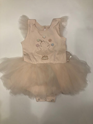 Luna Luna Hippo Blush Onesie Dress