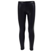 Black Baby Lame Legging