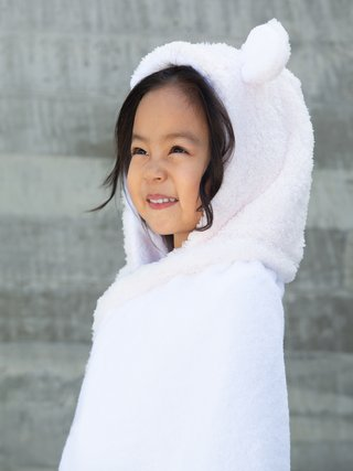 Little Giraffe Chenille Hooded Towel W/ Ears