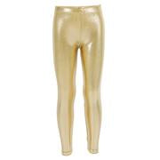 Gold Lame Leggings