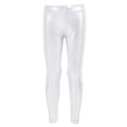 Silver Lame Legging