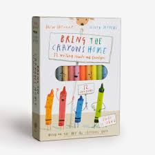 Bring The Crayons Home Writing Sheets and Envelopes