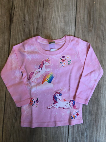 Tee Hee Baby Unicorns Long Sleeve Baby