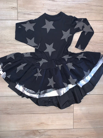 Nununu Festive Star Dress Girls