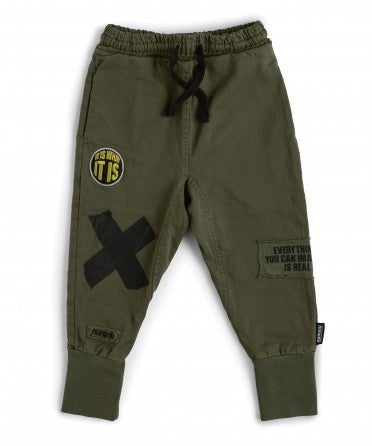 Nununu Inspiration Olive Sweatpants Boys