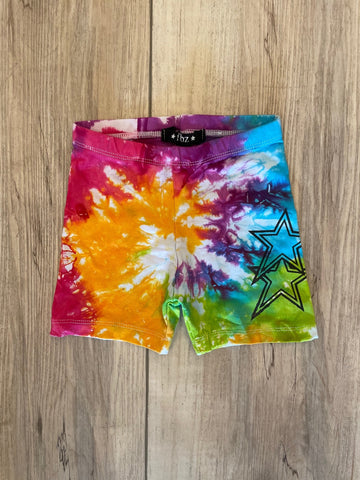 FBZ Tye Dye Star Shorts Baby Girl