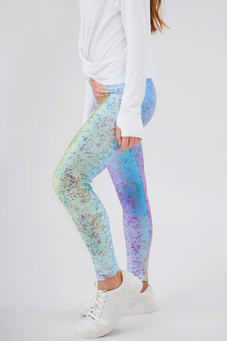 Rainbow Foil Legging