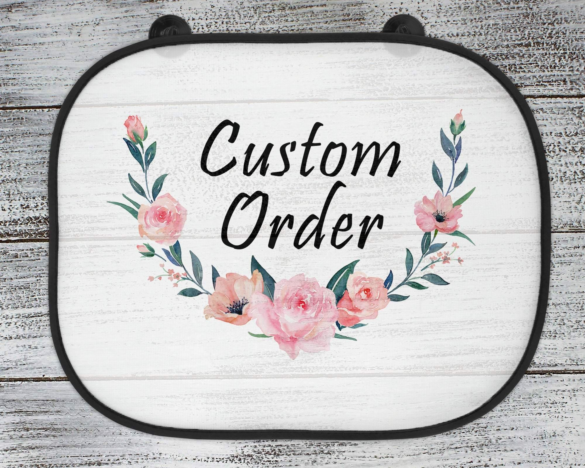 Car Accessories - Personalized Sun Shade | Custom Car Shade | Vehicle Shade | Custom Order - This & That Solutions