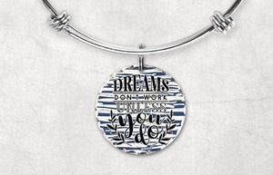 Charm Bracelets - Custom Jewelry | Personalized Jewelry | Bangle Bracelet and Charm | Dreams - This & That Solutions