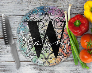 Cutting Boards - Personalized Cutting Board | Custom Glass Cutting Board | Rectangle | Colorful - This & That Solutions