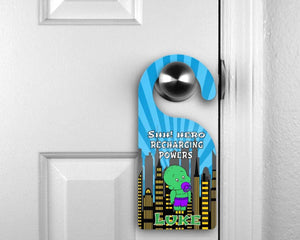 Door Hangers - Customized Door Hanger | Personalized Bedroom Sign | Custom Design | BabyHulk - This & That Solutions