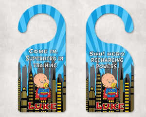 Door Hangers - Customized Door Hanger | Personalized Bedroom Sign | Custom Design | SuperBaby - This & That Solutions