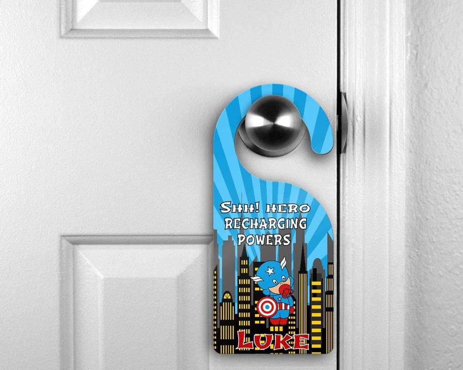 Customized Door Hanger |  Personalized Bedroom Sign | Custom Design | BabyCap - This & That Solutions