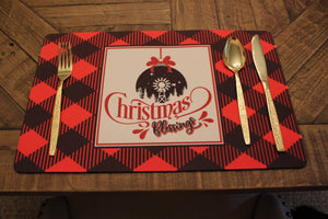 Placemats | Custom Placemats | Personalized Dining and Serving | Christmas Blessings | This and That Solutions | Personalized Gifts | Custom Home Décor