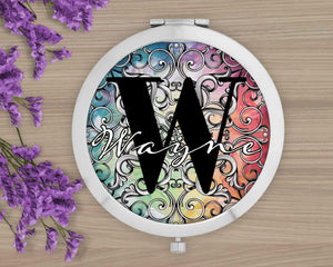 Compacts | Personalized Compacts | Custom Compacts | Makeup & Cosmetics | Colorful | This and That Solutions | Personalized Gifts | Custom Home Décor