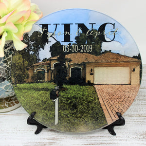 Cutting Boards | Personalized Cutting Board | Custom Glass Cutting Board | Watercolor Photo | This and That Solutions | Personalized Gifts | Custom Home Décor