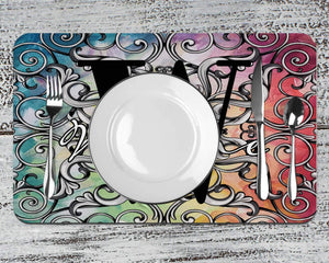 Placemats | Custom Placemats | Personalized Dining and Serving | Colorful | This and That Solutions | Personalized Gifts | Custom Home Décor