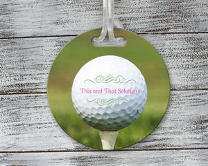 Luggage Tags | Personalized Luggage Tag | Custom Golf Gifts | Golf Tag | Company Logo Golf | This and That Solutions | Personalized Gifts | Custom Home Décor
