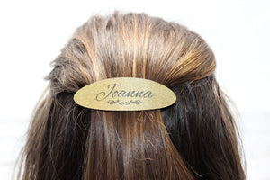 Barrettes & Clips | Custom Hair Barrette | Personalized Hair Accessories | Name | This and That Solutions | Personalized Gifts | Custom Home Décor