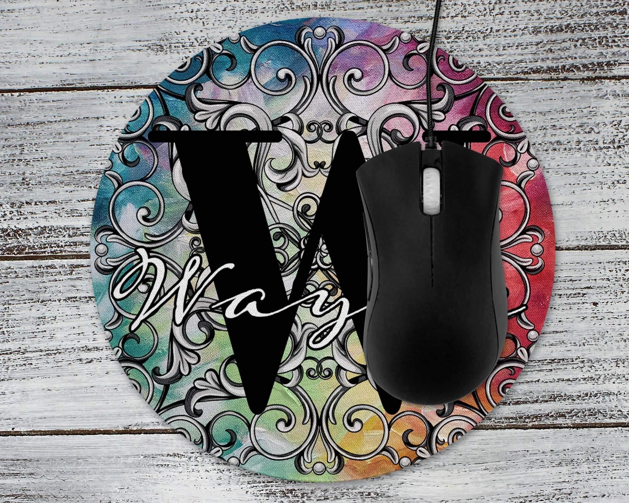 Mousepads | Monogrammed Mouse Pad | Personalized Mouse Pad | Colorful | This and That Solutions | Personalized Gifts | Custom Home Décor