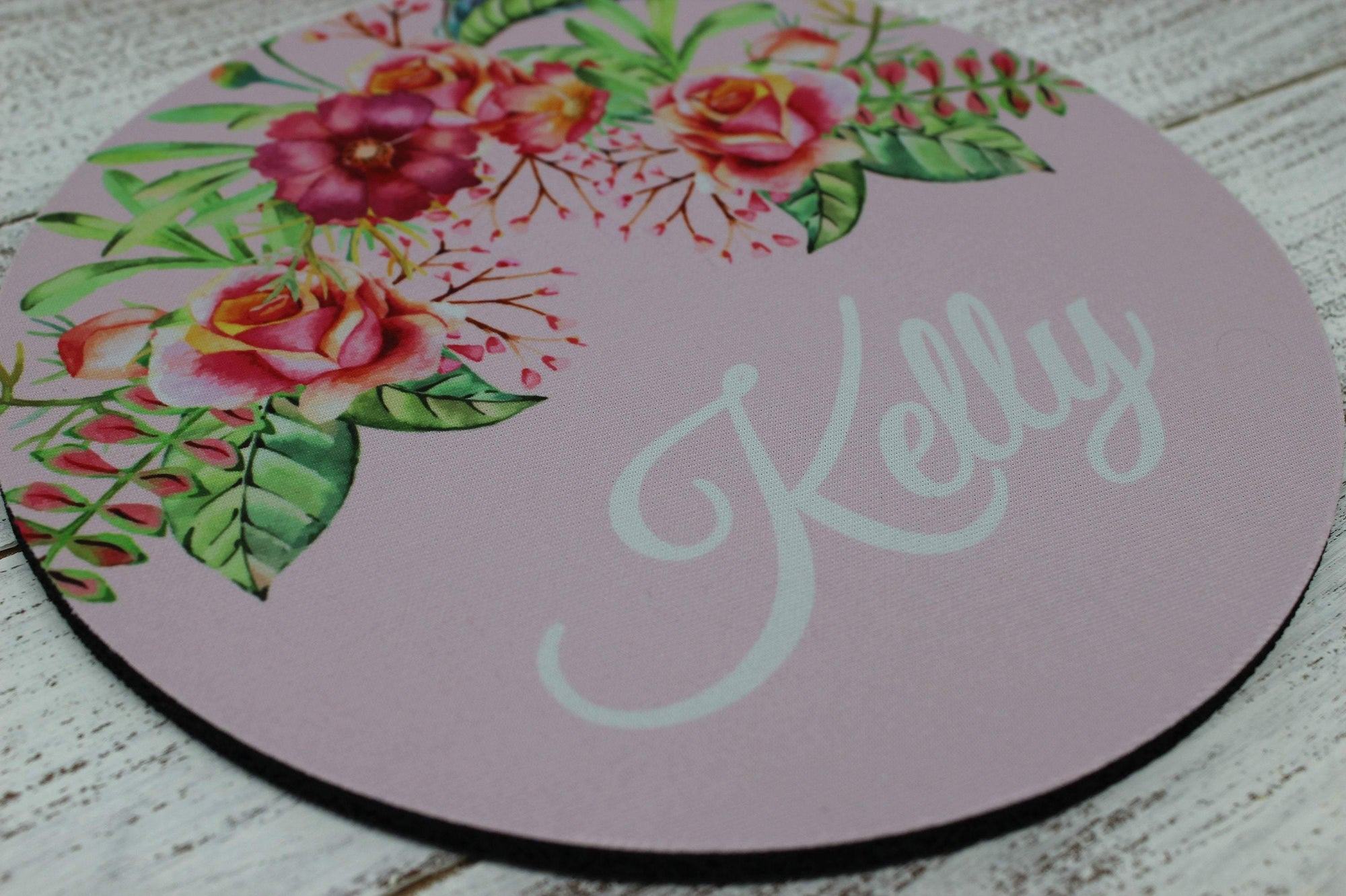 Mousepads | Monogrammed Mouse Pad | Personalized Mouse Pad | Floral | This and That Solutions | Personalized Gifts | Custom Home Décor