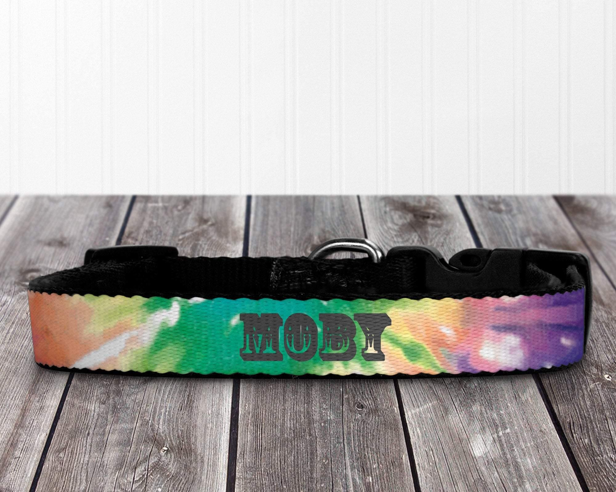 Pet Collars & Jewelry | Personalized Pet Collar | Custom Pet Collar | Pet Accessories | Tie Dye | This and That Solutions | Personalized Gifts | Custom Home Décor