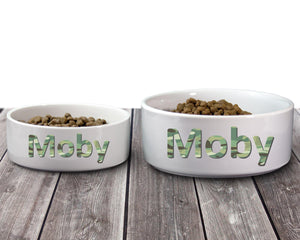 Pet Bowls | Personalized Pet Bowls | Custom Pet Bowls | Pet Accessories | Camo | This and That Solutions | Personalized Gifts | Custom Home Décor