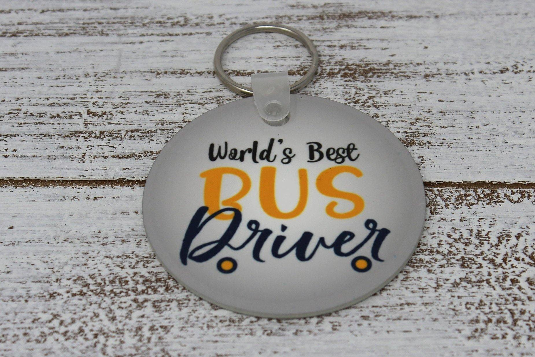 Keychains | Monogrammed Key Chain | Personalized Key Chain | Bus Driver | This and That Solutions | Personalized Gifts | Custom Home Décor