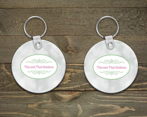 Keychains | Monogrammed Key Chain | Personalized Key Chain | Company Logo | This and That Solutions | Personalized Gifts | Custom Home Décor