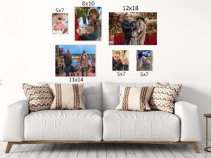 Picture Frames | Personalized Aluminum Photo Panel | Wall Decor | Custom Photo | This and That Solutions | Personalized Gifts | Custom Home Décor