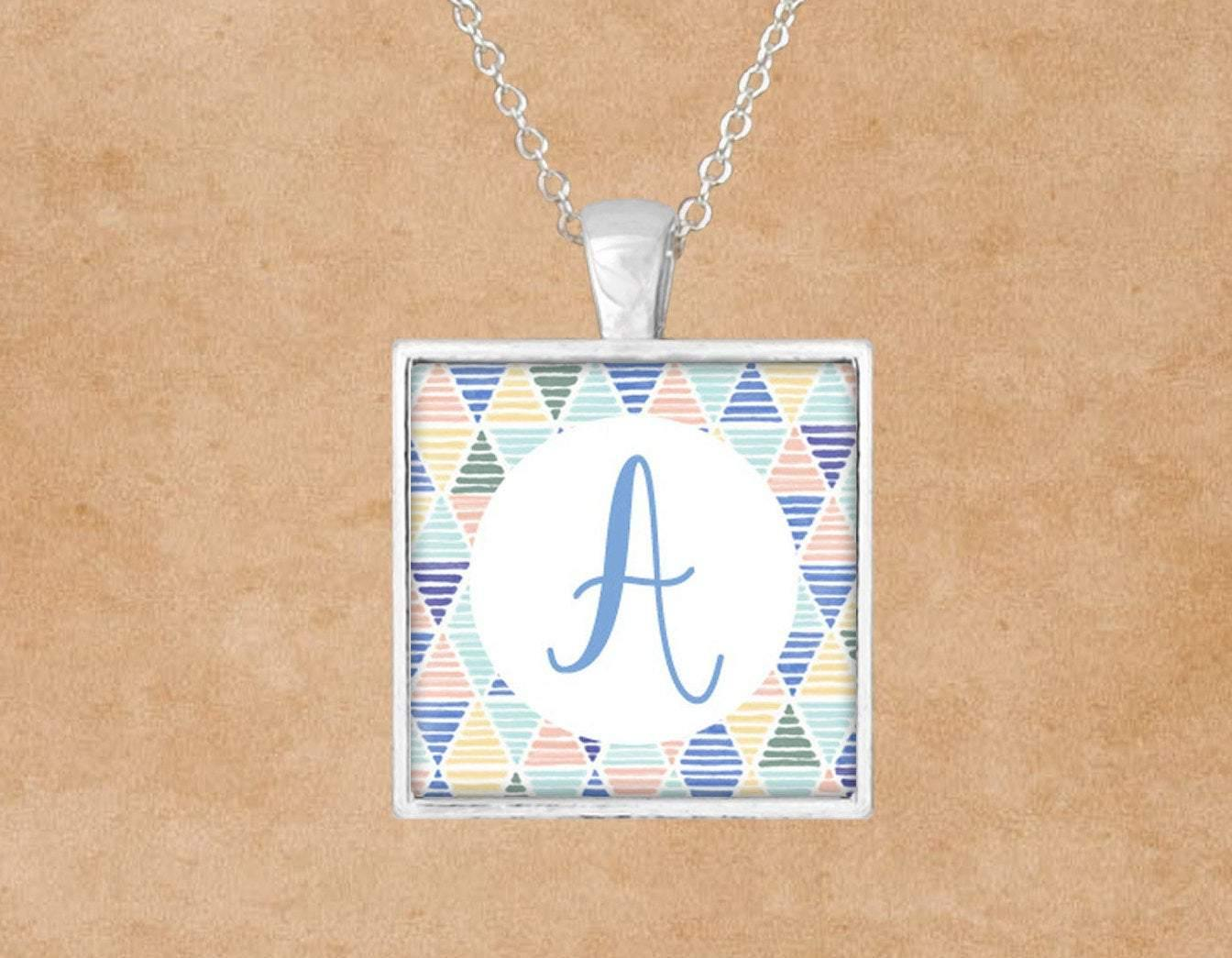 Pendants | Custom Jewelry | Personalized Jewelry | Pendant Necklace | Summer Monogram | This and That Solutions | Personalized Gifts | Custom Home Décor