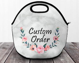 Lunch Bags & Boxes | Personalized Lunch Bags | Custom Bags | Custom Order | This and That Solutions | Personalized Gifts | Custom Home Décor