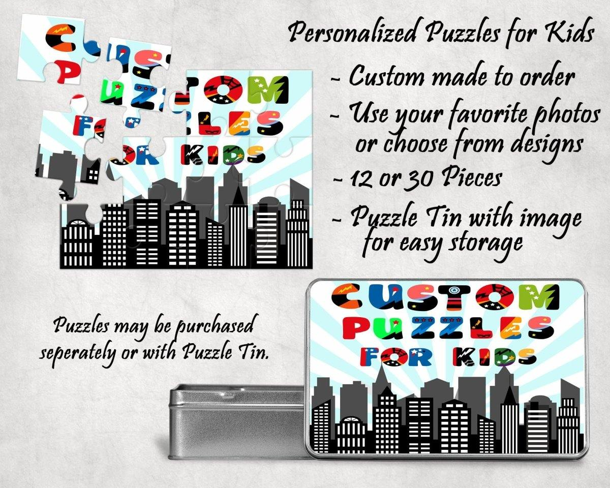 Jigsaw Puzzles - Custom Photo Puzzle | Personalized Gifts | Custom 12 Piece Puzzle - This & That Solutions