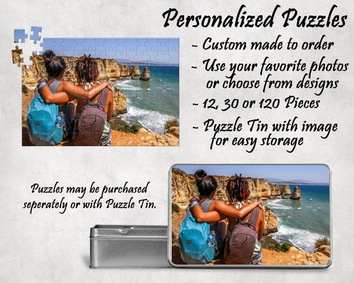 Jigsaw Puzzles - Custom Photo Puzzle | Personalized Gifts | Custom 130 Piece Puzzle - This & That Solutions