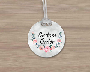 Luggage Tags - Personalized Luggage Tags | Custom Design | Custom Order - This & That Solutions