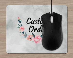 Mousepads | Monogrammed Mouse Pad | Personalized Mouse Pad | Custom Order | This and That Solutions | Personalized Gifts | Custom Home Décor
