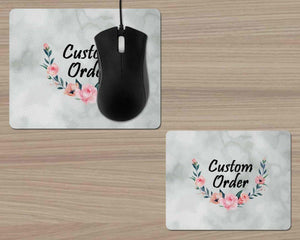 Mousepads - Monogrammed Mouse Pad | Personalized Mouse Pad | Custom Design | Custom Order - This & That Solutions