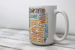 Mugs | Custom Coffee Mug | Personalized Coffee Mug | Crazy Day | This and That Solutions | Personalized Gifts | Custom Home Décor