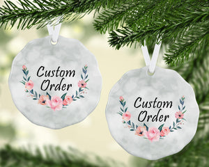 Ornaments - Photo Holiday Ornaments | Personalized Christmas Ornaments | Custom Order - This & That Solutions