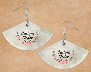 Pendants - Custom Jewelry | Personalized Jewelry | Shell Pendant | Custom Order - This & That Solutions