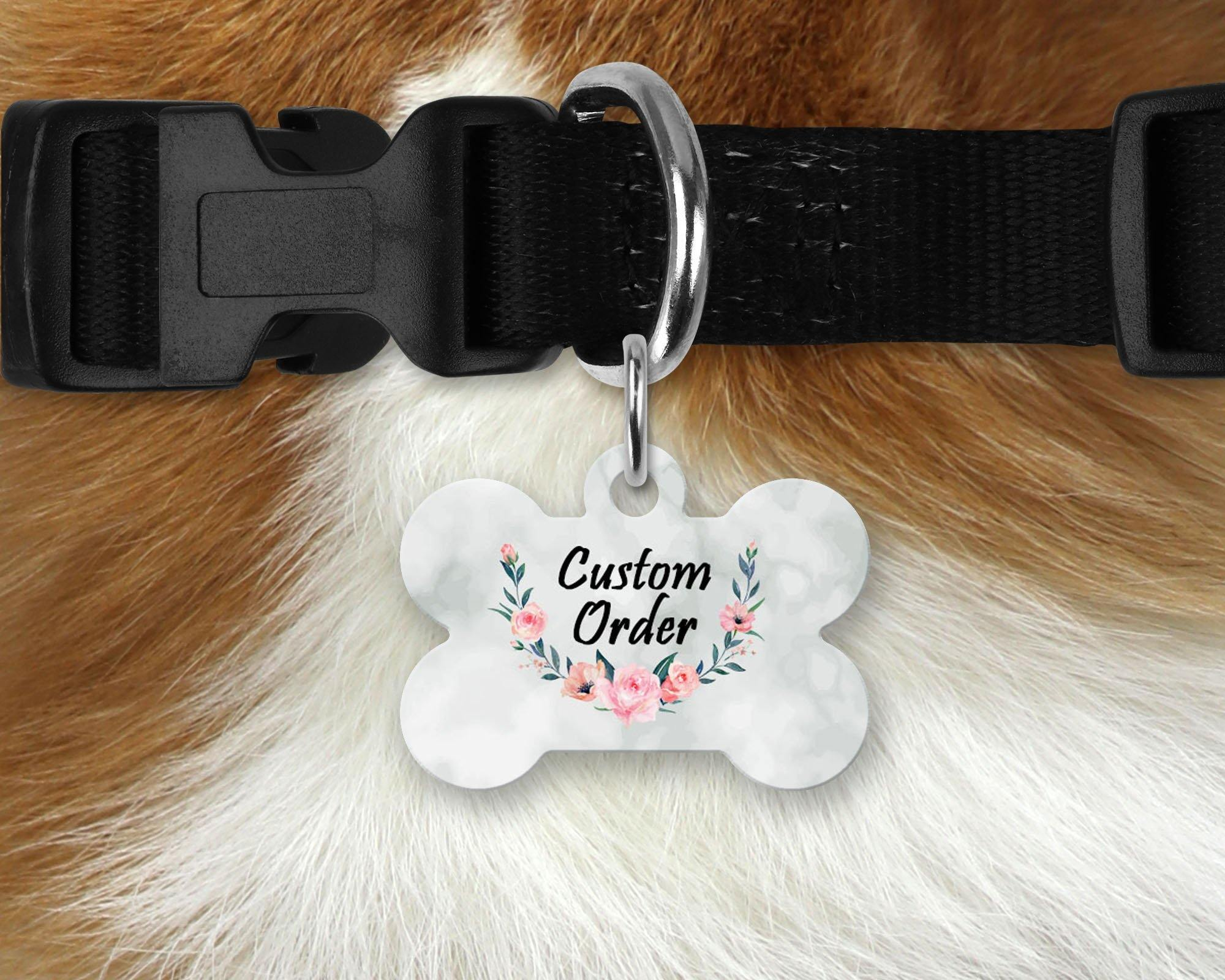 Pet ID Tags | Personalized Pet Tags | Custom Pet Tags | Pet Accessories | Custom Order | This and That Solutions | Personalized Gifts | Custom Home Décor