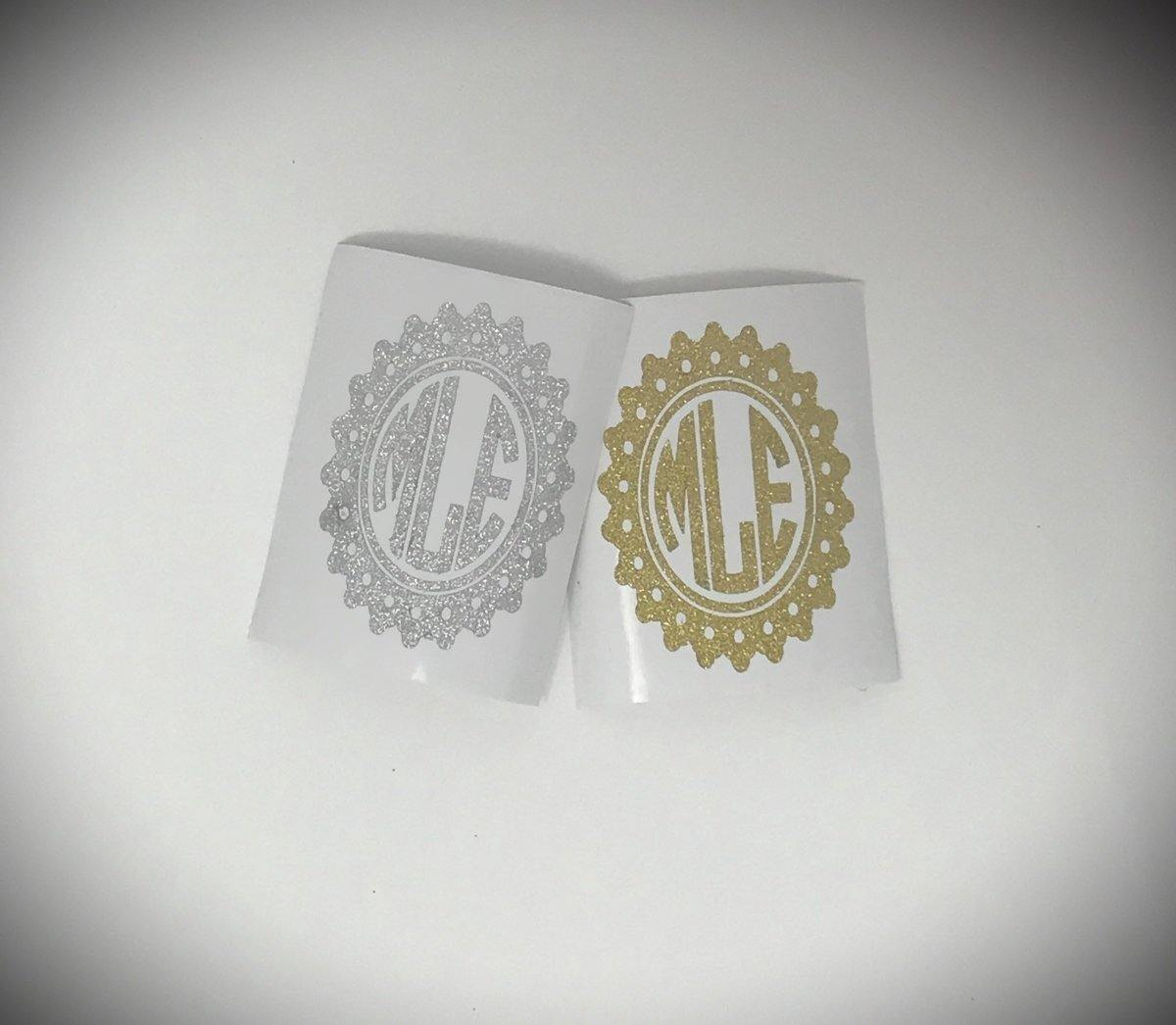 Phone Decals - Monogramed cellphone decal - This & That Solutions