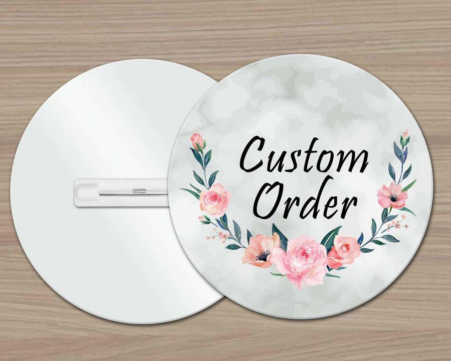 Pins & Pinback Buttons - Customized Lapel Pins | Personalized Office Accessories | Custom Buttons | Custom Order - This & That Solutions