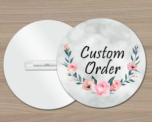 Pins & Pinback Buttons | Customized Lapel Pins | Personalized Office Accessories | Custom Buttons | Custom Order | This and That Solutions | Personalized Gifts | Custom Home Décor